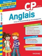 CAHIERS DU JOUR/ SOIR ; anglais ; CP - Couverture - Format classique