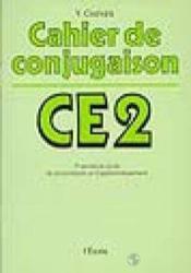 Cahier de conjugaison CE2 ; 1er année di cycle de consolidation et d'approfondissement - Couverture - Format classique
