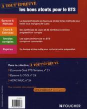 Epreuves 4 ; Gestion Des Obligations Comptables Fiscales Et Sociales ; Bts Cgo - 4ème de couverture - Format classique
