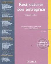 Restructurer son entreprise ; aspects sociaux - Intérieur - Format classique