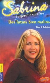Sabrina t.15 ; des lutins bien malins - Couverture - Format classique