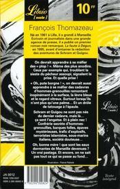 Schram & Guigou, justiciers RMIstes t.2 ; qui a noyé l'homme-grenouille - 4ème de couverture - Format classique