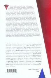 Differenciation Et Indifferenciation Des Personnes Dans Le Code Civil - 4ème de couverture - Format classique