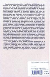 Des nombres et des lettres - 4ème de couverture - Format classique