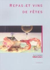 Repas et vins de fetes - Couverture - Format classique