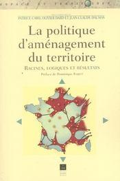 Politique d amenagement du territoire - Intérieur - Format classique