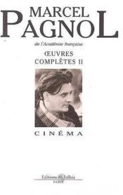 Les Oeuvres Completes T.2 Le Cinema - Couverture - Format classique
