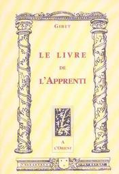 Livre de l'apprenti - Intérieur - Format classique