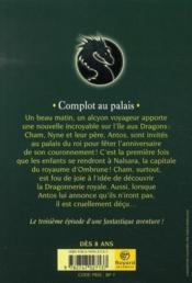 Les dragons de Nalsara T.3 ; complot au palais - Couverture - Format classique