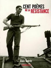 Cent poèmes de la Résistance - Couverture - Format classique