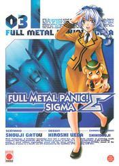 Full metal panic sigma t.3 - Couverture - Format classique