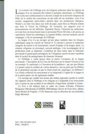 Félibrige & religions - 4ème de couverture - Format classique