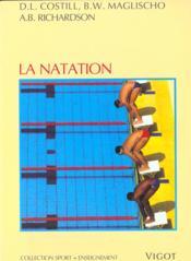 La natation n.154 - Couverture - Format classique