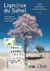 Ligneux du Sahel ; outil graphique d'identification V.1.0 - Couverture - Format classique