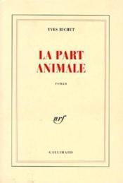 La part animale - Couverture - Format classique