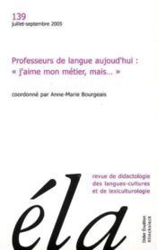 Revue Ela N.139 - Couverture - Format classique