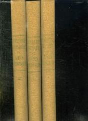 3 Tomes. Demeures Inspirees Et Sites Romanesques. - Couverture - Format classique