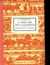 L'Anglais Aux Examens. Deuxieme Edition. - Couverture - Format classique