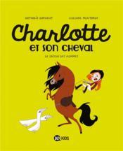Charlotte et son cheval T.1 ; la saison des pommes - Couverture - Format classique