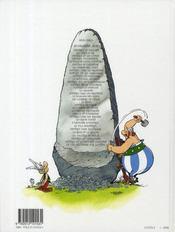 Astérix T.21 ; le cadeau de César - 4ème de couverture - Format classique