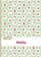 Carnet Nelia Lignes,96p,A5 Rosesteatime - Couverture - Format classique