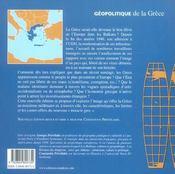 Geopolitique de la grece - 4ème de couverture - Format classique