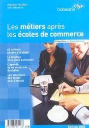 Les Metiers Apres Les Ecoles De Commerce - Intérieur - Format classique