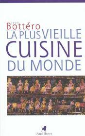 Plus Vieille Cuisine Du Monde (La) - Intérieur - Format classique