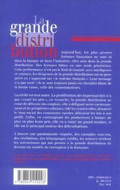 La Grande Distribution - 4ème de couverture - Format classique