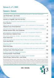 Revue information, interaction, intelligence t.5 ; le document numerique - 4ème de couverture - Format classique
