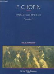 Frederic Chopin, Valse En Ut Mineur - Couverture - Format classique