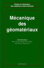 Les geomateriaux volume 2 mecanique des geomateriaux coll etudes en mecanique des materiaux et des s - Couverture - Format classique