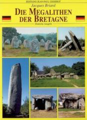 Megalithen Der Bretagne - Couverture - Format classique