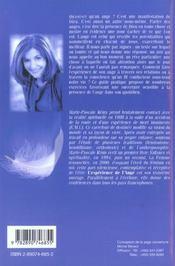 Experience De L'Ange (L') - 4ème de couverture - Format classique