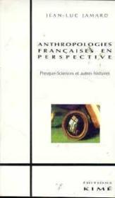 Antropologies francaises en perspective - Couverture - Format classique