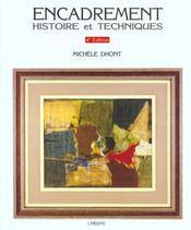 Encadrement Histoire Et Techniques 4eme Edition - Intérieur - Format classique