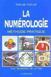 La numérologie ; méthode pratique - Intérieur - Format classique