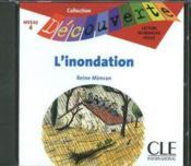 L'inondation ; lecture en français facile ; niveau 4 - Couverture - Format classique