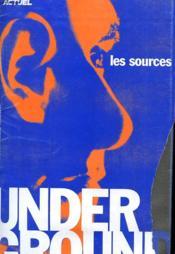 Actuel - Les Sources Underground - Couverture - Format classique