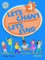 Let's chant, let's sing 3: cd pack - Couverture - Format classique