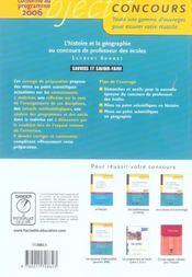 Objectif Concours - 4ème de couverture - Format classique