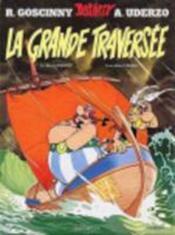 Astérix T.22 ; la grande traversée - Couverture - Format classique