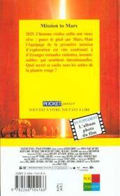 Mission To Mars N.560 - 4ème de couverture - Format classique