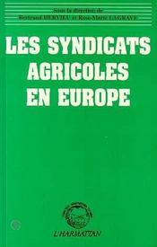 Les syndicats agricoles en europe - Intérieur - Format classique