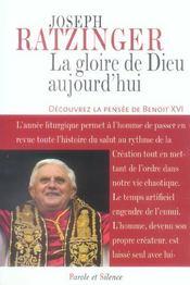 Gloire De Dieu Aujourd'Hui - Intérieur - Format classique