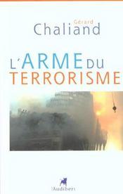 Arme Du Terrorisme (L') - Intérieur - Format classique