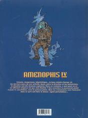 Amenophis IV t.3 ; Europe - 4ème de couverture - Format classique