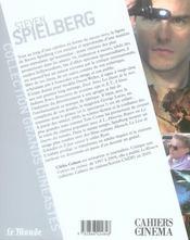 Steven Spielberg - 4ème de couverture - Format classique