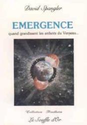 Emergence - Couverture - Format classique