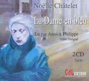 La dame en bleu - Couverture - Format classique